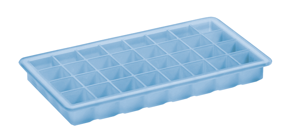 Eiswürfelbereiter Würfel Longdrink 2x2cm eisblau