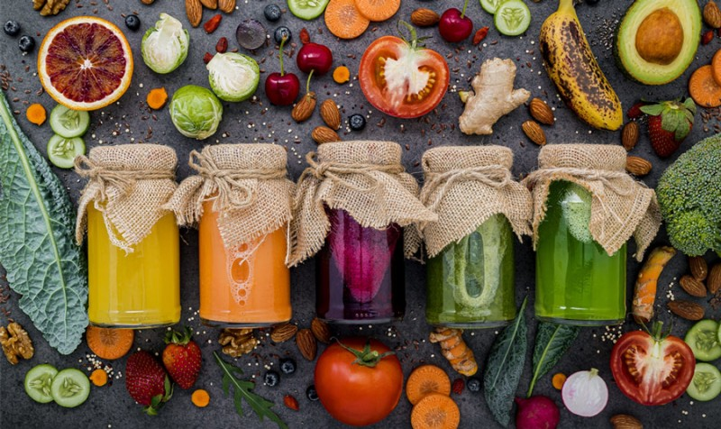Saft, Gemüse, Obst, selber machen