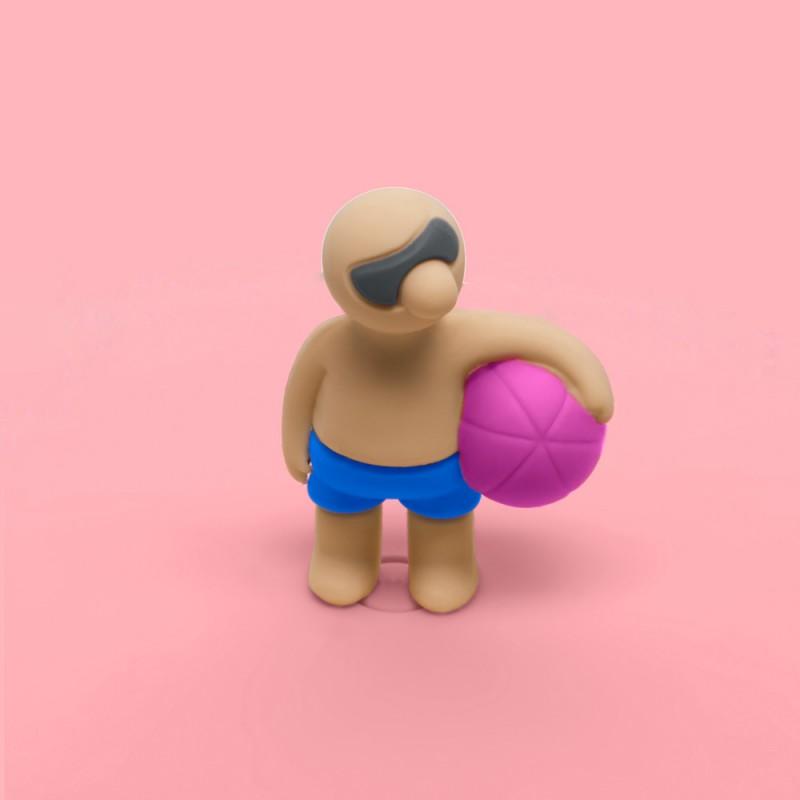 Mein Deckel Beach Boys Benni Ball von Lurch - Silikondeckel