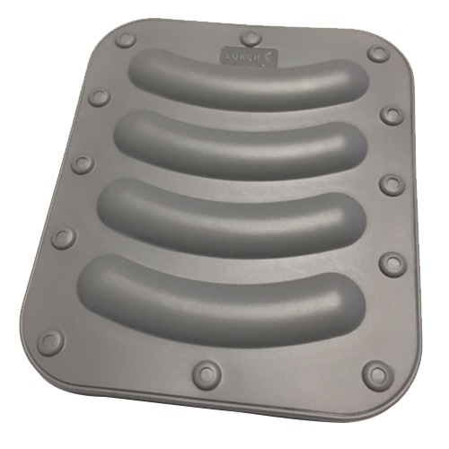 Wursti-Maker 148x173mm 2er Set iron grey