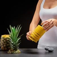 Vorschau: Ananasschneider platingrau