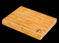 Vorschau: Schneidbrett Bambus Attila Hildmann 400x300x45mm