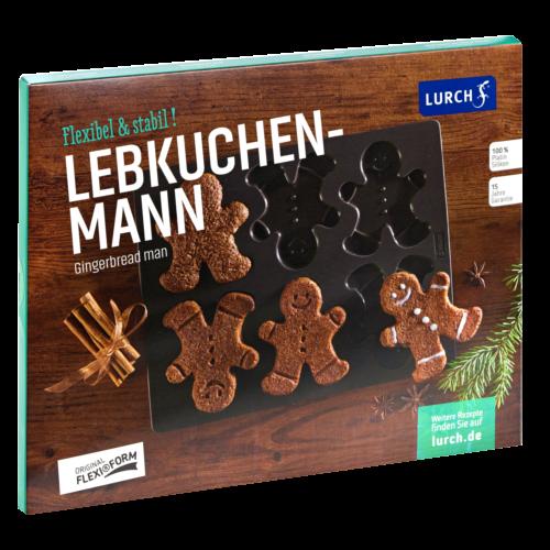 Flexiform Lebkuchenmann 24x30cm braun