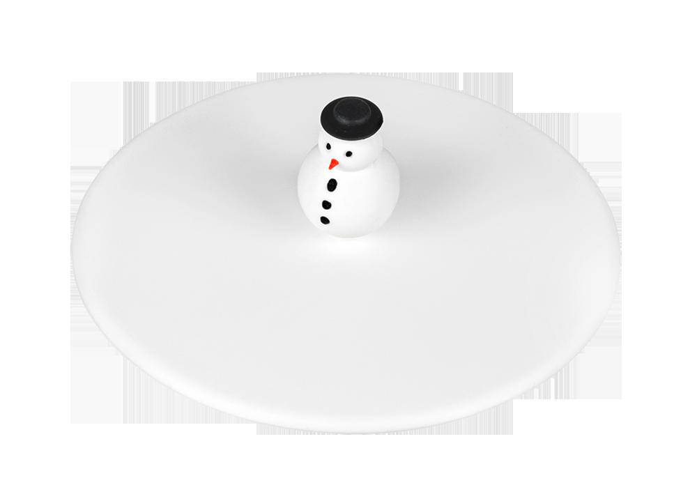 Mein Deckel Winter Schneemann