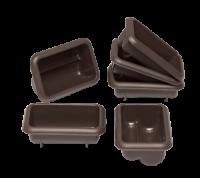 Vorschau: Flexiform Mini Stollen 6er Set braun