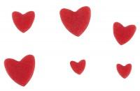 Vorschau: Ausstecher mit Auswerfer Herz 3er Set ruby