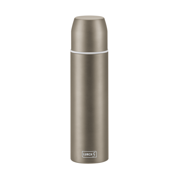Isolier-Flasche mit Becher EDS 0,45l earth grey