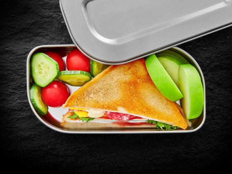Lurch Lunchbox Brotdose aus Edelstahl