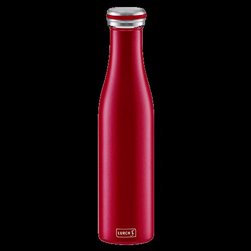 Isolier-Flasche Edelstahl 0,75l bordeaux