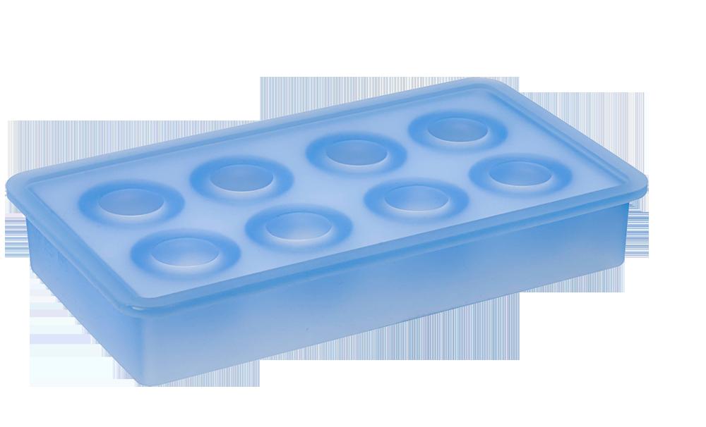 Eiswürfelbereiter Kugeln Ø33mm eisblau