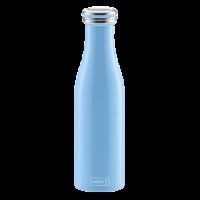 Vorschau: Isolier-Flasche Edelstahl 0,5l light blue