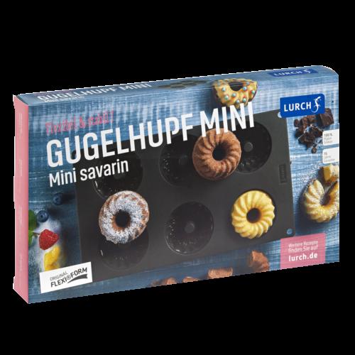 Flexiform Gugelhupf Mini 6fach braun