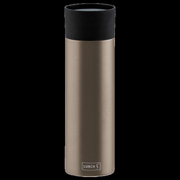 Isolier-Becher Edelstahl 0,5l earth grey