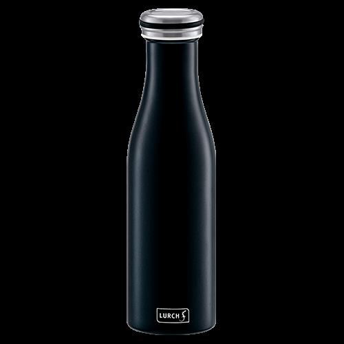 Isolier-Flasche Edelstahl 0,5l mattschwarz