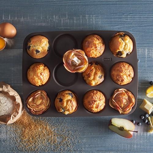 Flexiform American Muffins 12fach braun