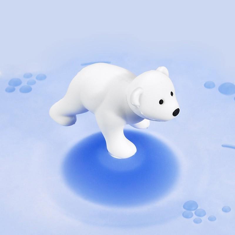 Mein Deckel Arctic Summer Eisbär aus Silikon von Lurch