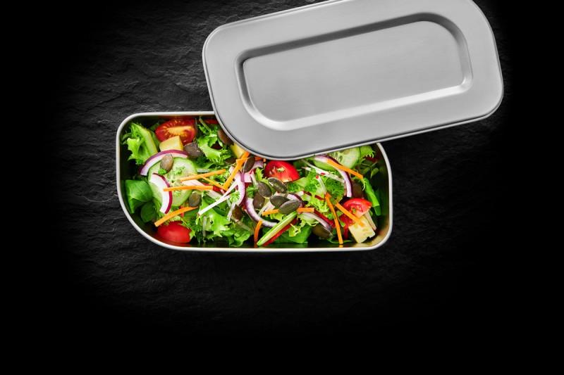 Lunchbox Snackdose Edelstahl