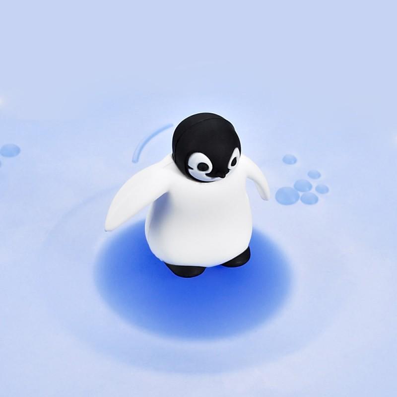 Mein Deckel Arctic Summer Pinguin aus Silikon von Lurch
