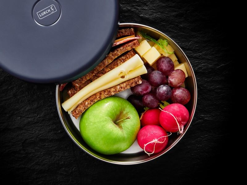 Lurch Isolier-Lunchbox Brotdose - doppelwandig - lackiert