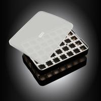 Vorschau: ICE FORMER Würfel 2x2cm schwarz transparent