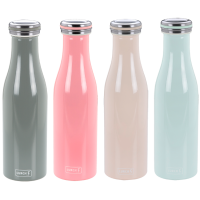 Vorschau: Thermo-Flasche Edelstahl 0,5l soft pink