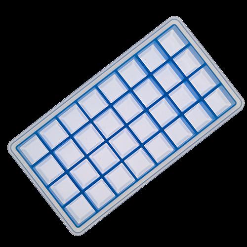 Eisformer Würfel 2x2cm eisblau