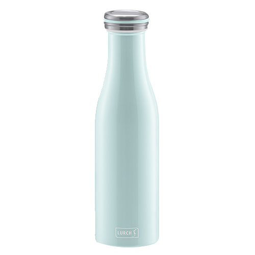 Isolier-Flasche Edelstahl 0,5l mint