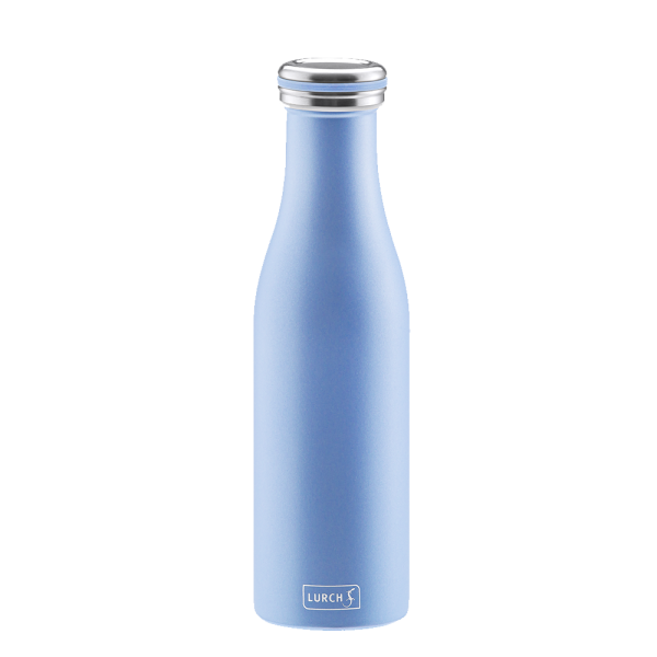 Isolier-Flasche Edelstahl 0,5l pearl blue
