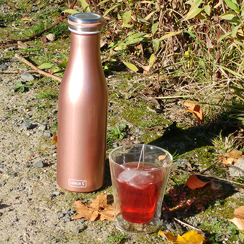 Thermo-Flasche Edelstahl 0,5l rosegold