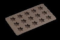 Vorschau: Flexiform Zimtstern 175x300mm braun