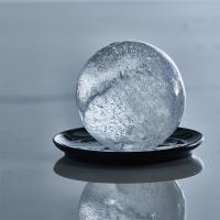 Vorschau: ICE FORMER Ball Ø6cm 2erSet schwarz transparent