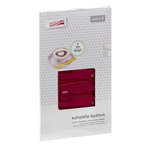 Flexiform Kaffeelöffel 15x30cm 8fach ruby