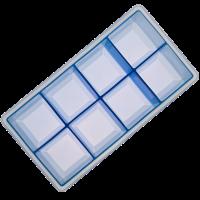 Vorschau: Eiswürfelbereiter Würfel 5x5cm eisblau