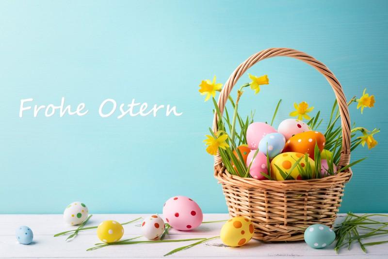 Frohe Ostern mit leckeren Backrezepten wünscht dir Lurch!