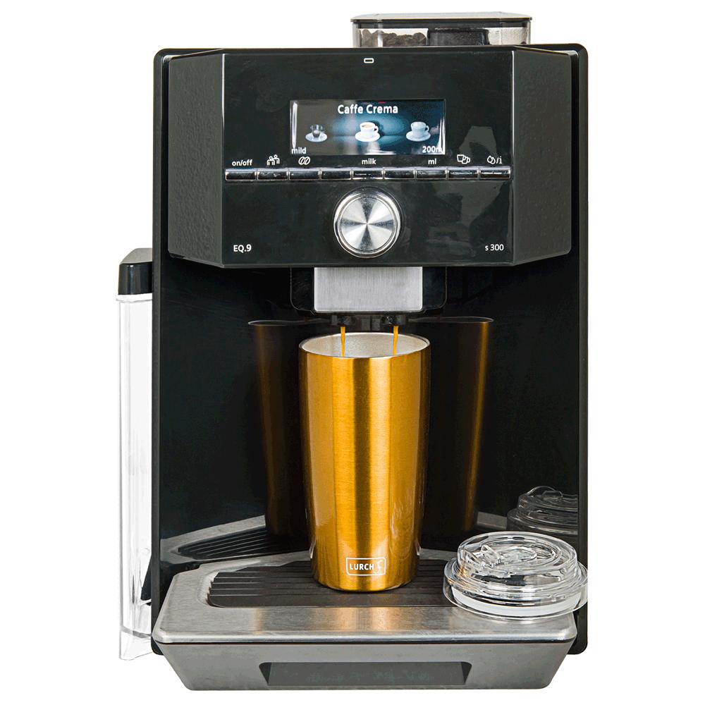Isolier-Becher Coffee-To-Go 0,4l mit transparentem Tritan ...