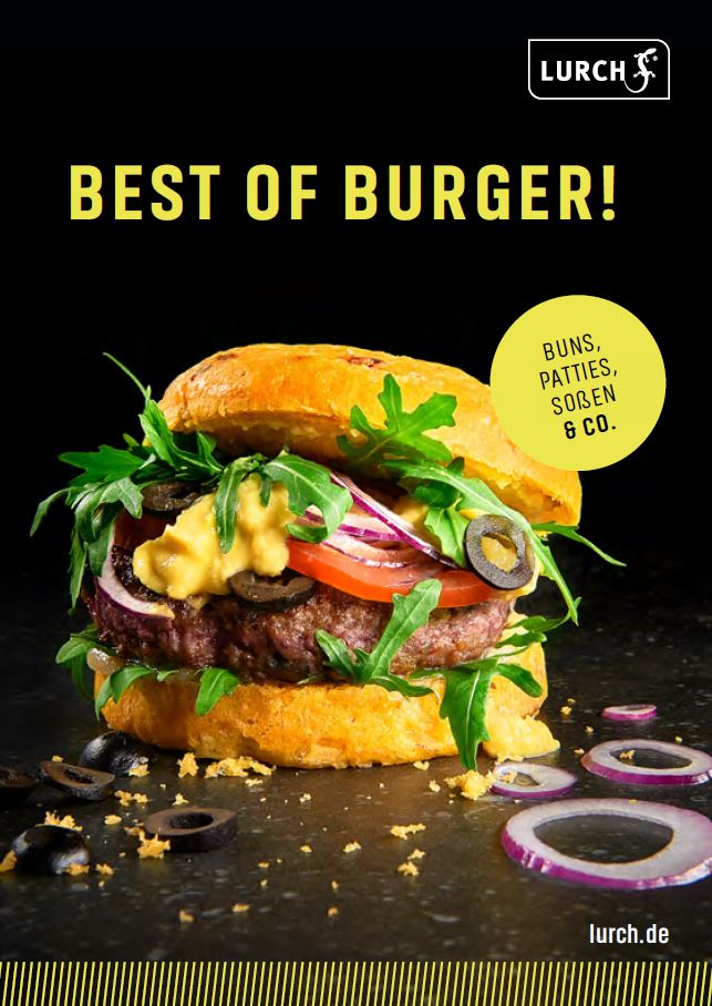Best of Burger Rezeptheft