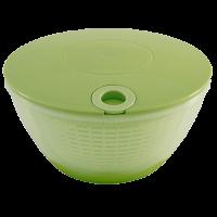 Vorschau: Salatschleuder mit Zugseil grün/transparent