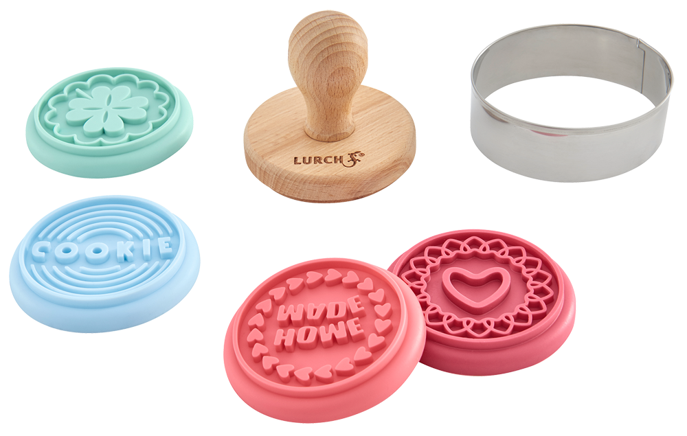 Keksstempel Set Home 6teilig Pastel Mix
