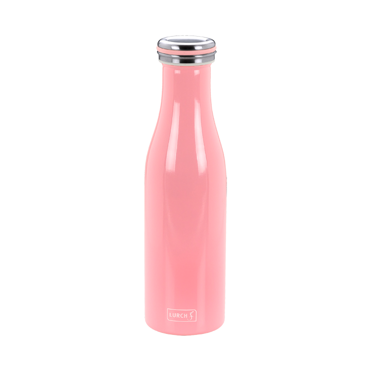 Thermo-Flasche Edelstahl 0,5l soft pink