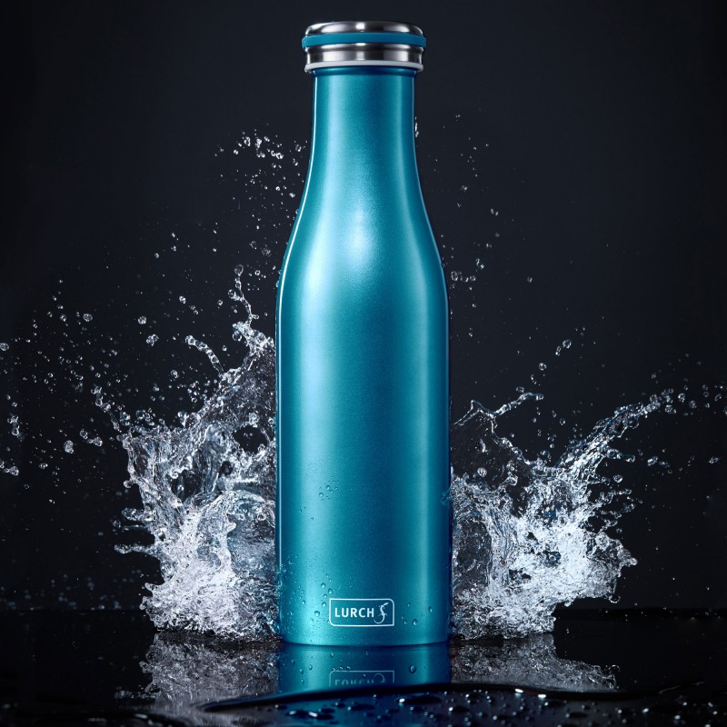 Lurch Isolierflaschen aus doppelwandigem Edelstahl