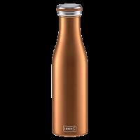 Vorschau: Isolier-Flasche Edelstahl 0,5l bronze-metallic