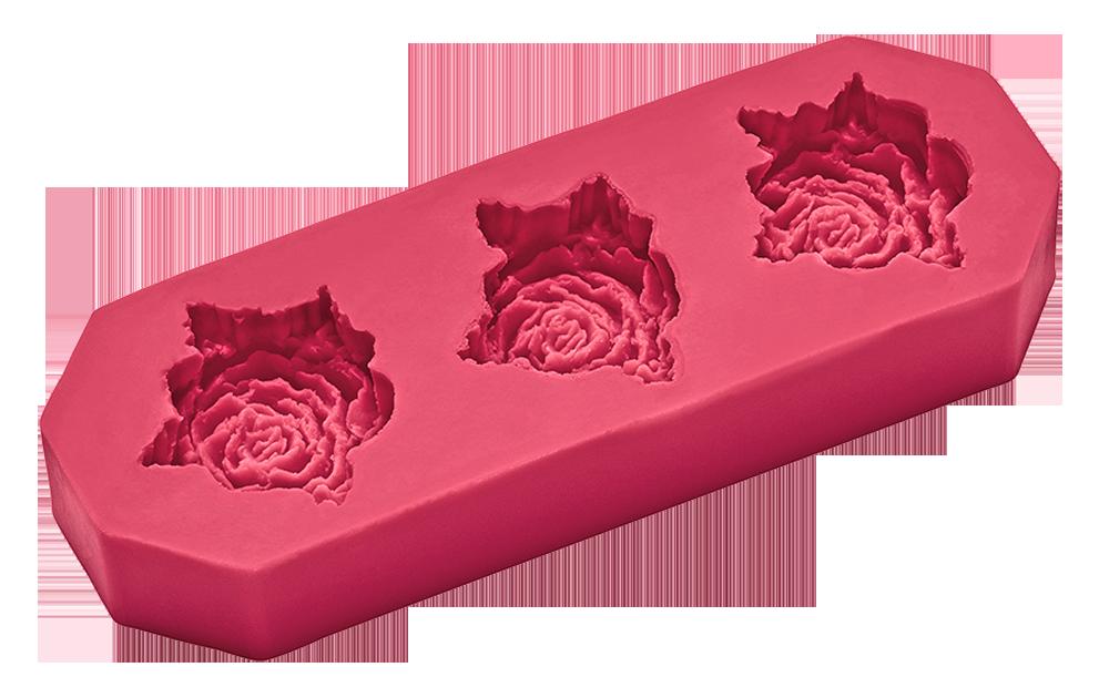 Flexiform Prägeform Rosen 30mm cotton candy