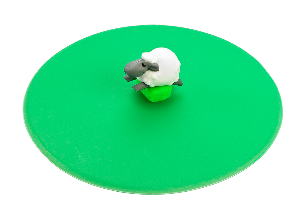 Mein Deckel Hoftiere Schaf