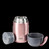 Vorschau: Thermo-Pot Edelstahl 680ml rosa-metallic