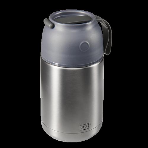 Iso-Pot Edelstahl 680ml grau-metallic