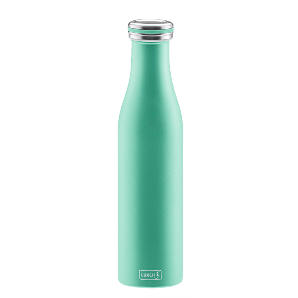 Isolier-Flasche Edelstahl 0,75l pearl green