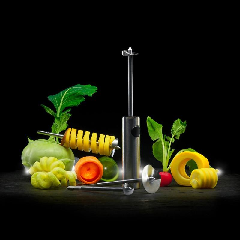 Lurch Twister zum Aushöhlen und Spiralisieren von Obst und Gemüse
