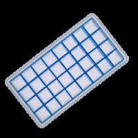 Vorschau: Eisformer Würfel 2x2cm eisblau