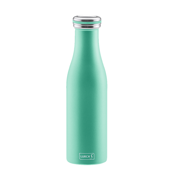 Isolier-Flasche Edelstahl 0,5l pearl green