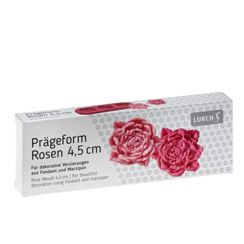 Flexiform Prägeform Rosen 45mm cotton candy